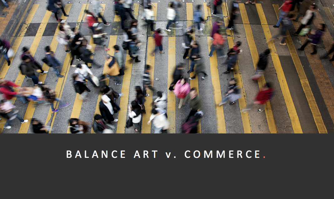 Art vs Commerce