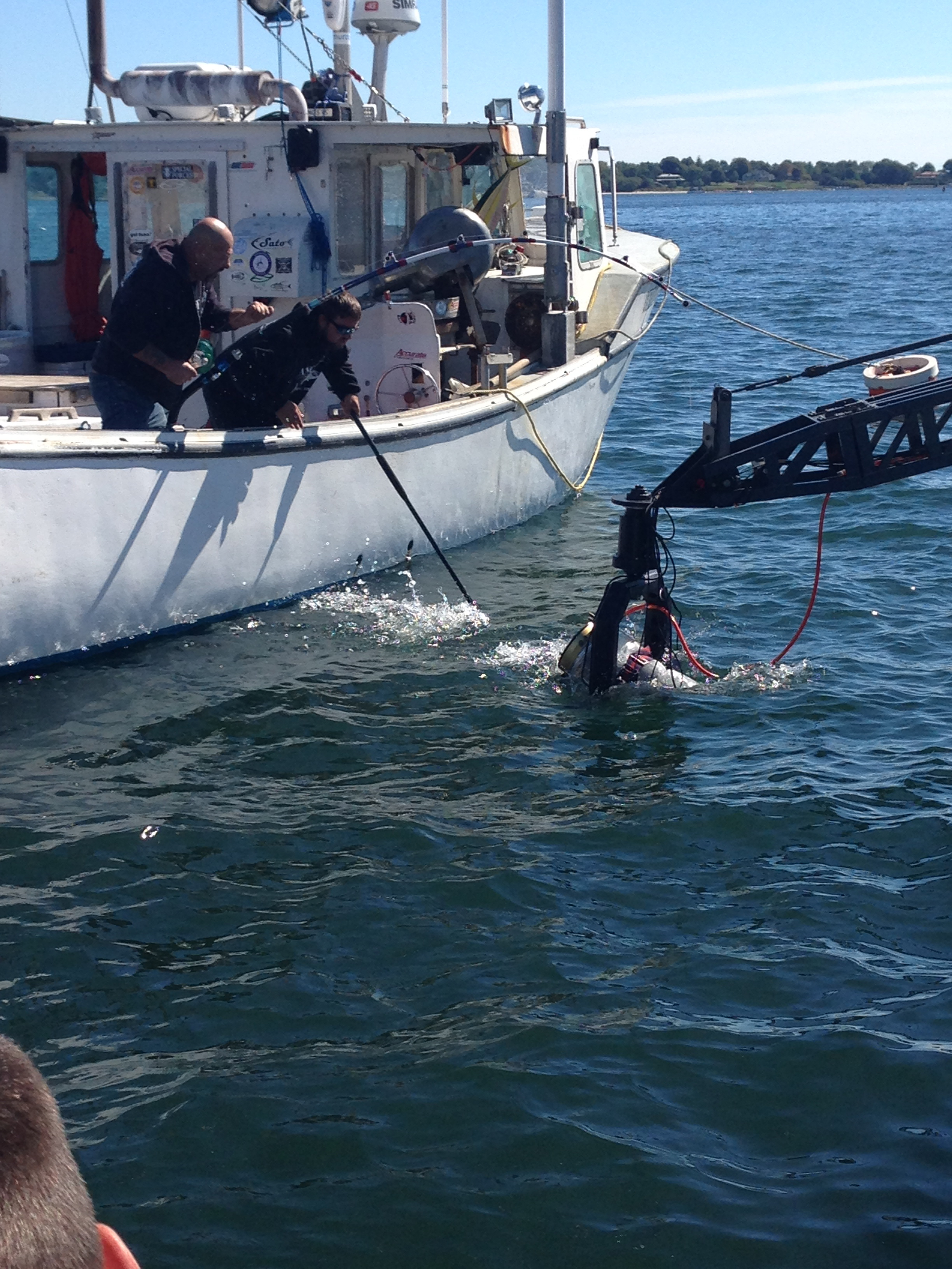 Submerged Camera