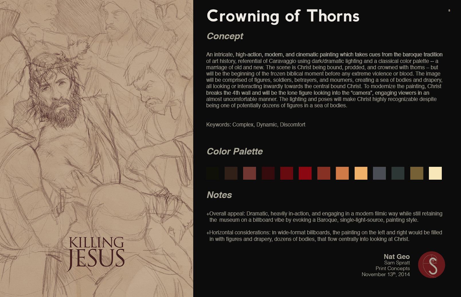 Crowning of Thorns Sketch